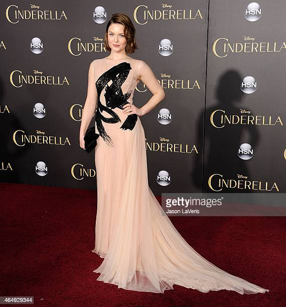 Actress Holliday Grainger attends the premiere of Cinderella at the El Capitan Theatre on March 1 2015 in Hollywood California