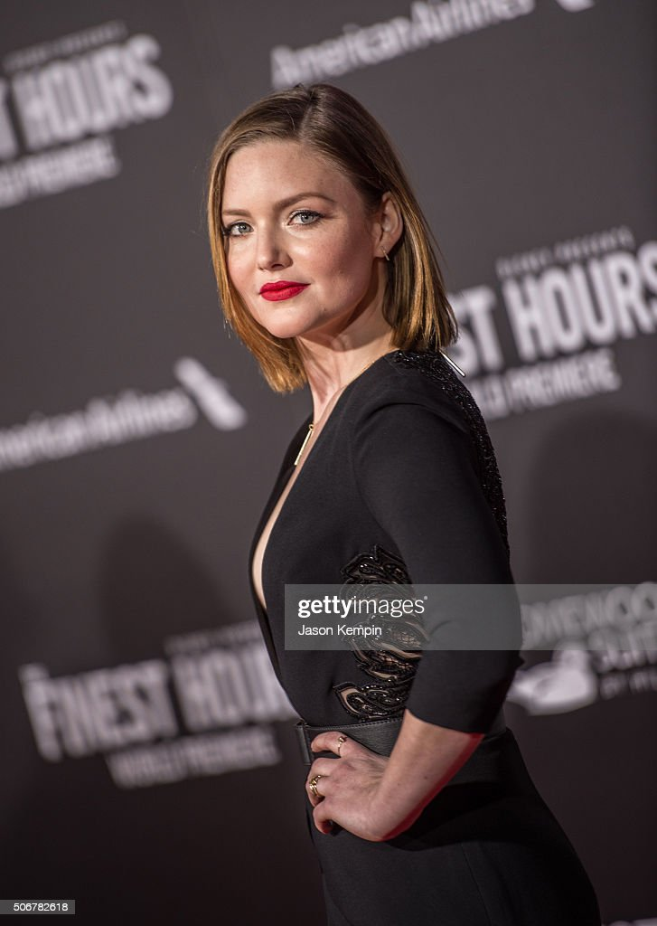 Actress Holliday Grainger attends the premiere of Disney's 'The Finest Hours' at TCL Chinese Theatre on January 25, 2016 in Hollywood, California.