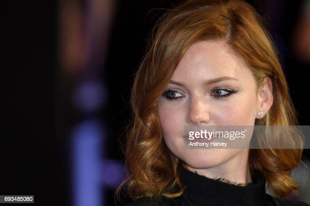 Actress Holliday Grainger attends the World Premiere of My Cousin Rachel at Picturehouse Central on June 7 2017 in London England
