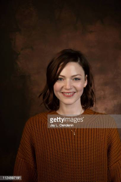 Actress Holliday Grainger from 'Animals' is photographed for Los Angeles Times on January 28 2019 at the 2019 Sundance Film Festival in Salt Lake...