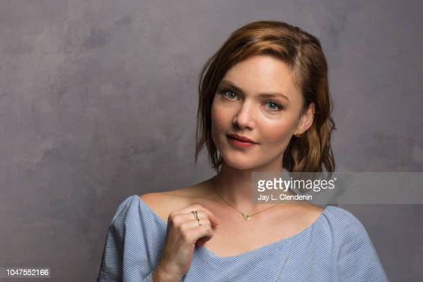 Actress Holliday Grainger from 'Tell It To The Bees' is photographed for Los Angeles Times on September 10 2018 in Toronto Ontario PUBLISHED IMAGE...
