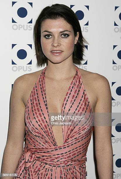 Actress Holly Davidson attends the Opus VIP launch party launching Kraken Sport Media publishings latest venture in partnership with Manchester...