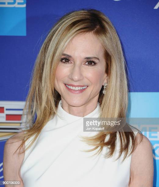 Actress Holly Hunter attends the 29th Annual Palm Springs International Film Festival Awards Gala at Palm Springs Convention Center on January 2 2018...