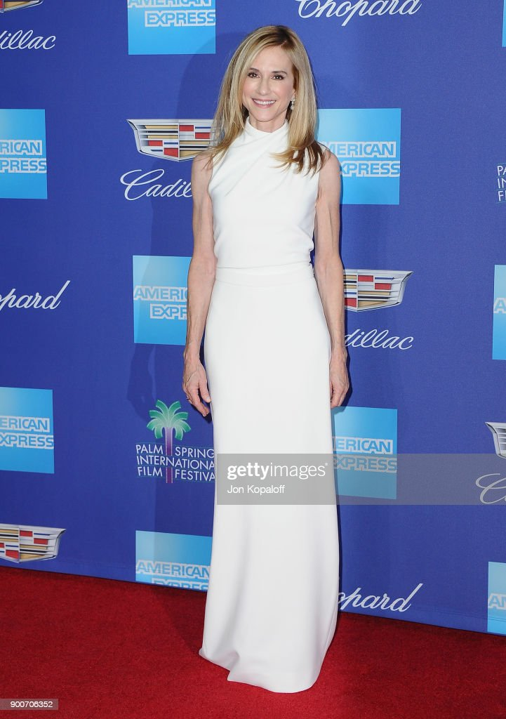 Actress Holly Hunter attends the 29th Annual Palm Springs International Film Festival Awards Gala at Palm Springs Convention Center on January 2, 2018 in Palm Springs, California.