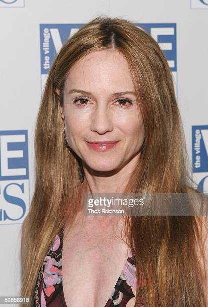 Actress Holly Hunter attends the 50th Annual Village Voice OBIE Awards at Webster Hall on May 16, 2005 in New York City.