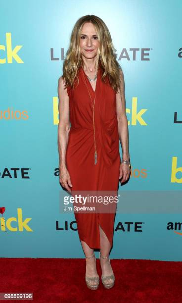 Actress Holly Hunter attends 'The Big Sick' New York premiere at The Landmark Sunshine Theater on June 20 2017 in New York City