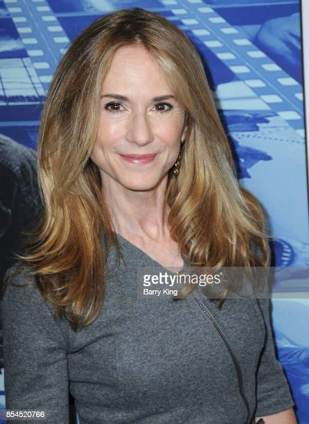 Actress Holly Hunter attends the premiere of HBO's 'Spielberg' at Paramount Studios on September 26 2017 in Hollywood California
