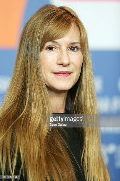 Actress Holly Hunter attends the 'Top Of The Lake' Press Conference during the 63rd Berlinale International Film Festival at the Grand Hyatt Hotel on...