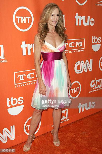 Actress Holly Hunter attends Turner Broadcasting's TCA Summer Party at the Beverly Hilton Hotel on July 11 2008 in Beverly Hills California