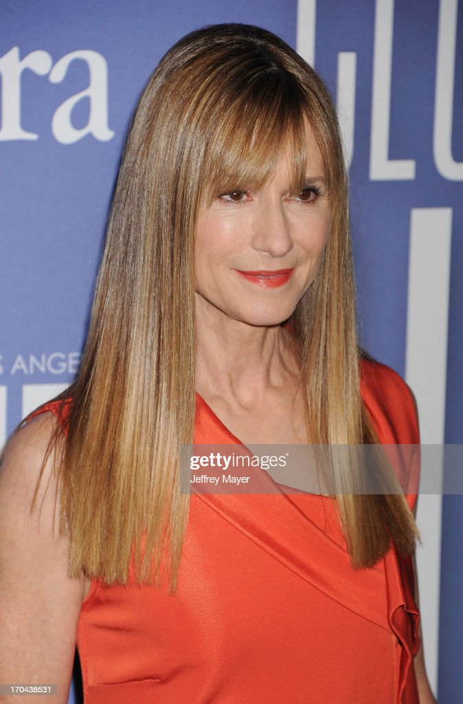 Actress Holly Hunter attends Women In Film's 2013 Crystal + Lucy Awards at The Beverly Hilton Hotel on June 12, 2013 in Beverly Hills, California.