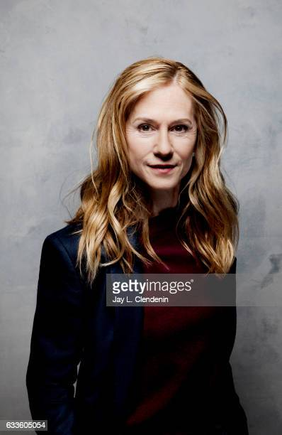 Actress Holly Hunter from the film 'The Big Sick' is photographed at the 2017 Sundance Film Festival for Los Angeles Times on January 19 2017 in Park...