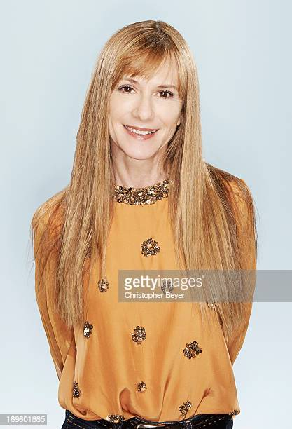Actress Holly Hunter is photographed for Entertainment Weekly Magazine on January 21, 2013 in Park City, Utah.