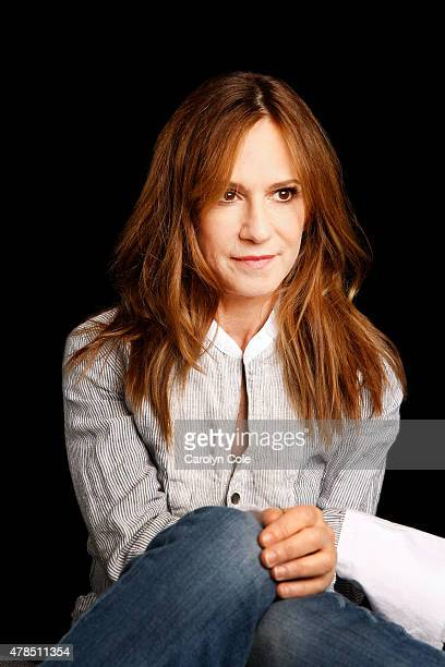 Actress Holly Hunter is photographed for Los Angeles Times on June 3 2015 in New York City PUBLISHED IMAGE CREDIT MUST BE Carolyn Cole/Los Angeles...