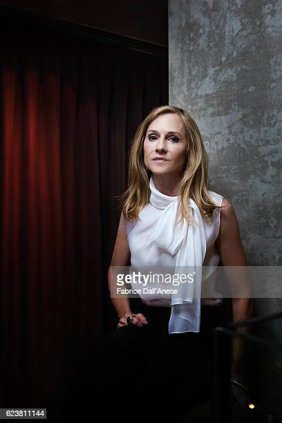 Actress Holly Hunter is photographed for MovieMaker Magazine on September 10 2016 in Toronto Canada