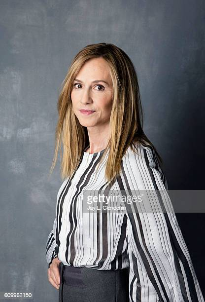 Actress Holly Hunter of 'Strange Weather' poses for a portraits at the Toronto International Film Festival for Los Angeles Times on September 12 2016...