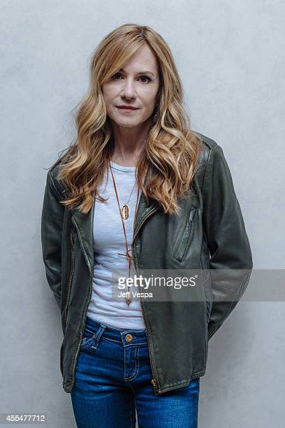 Actress Holly Hunter photographed for a Portrait Session at the 2014 Toronto Film Festival on September 4 2014 in Toronto Ontario