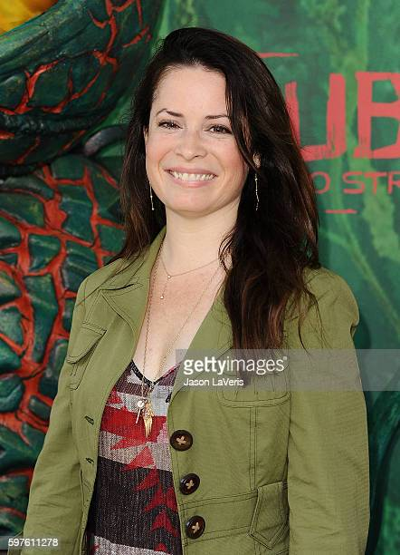 Actress Holly Marie Combs attends the premiere of 'Kubo and the Two Strings' at AMC Universal City Walk on August 14 2016 in Universal City California