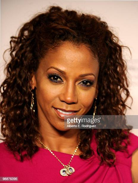 Actress Holly Robinson Peete arrives at the Academy of Television Arts Sciences' 3rd Annual Academy Honors at the Beverly Hills Hotel on May 5 2010...