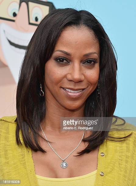 Actress Holly Robinson Peete arrives to the premiere of Columbia Pictures and Sony Pictures Animation's Cloudy With A Chance of Meatballs 2 at the...