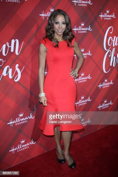Actress Holly Robinson Peete attends a screening of Hallmark Channel's 'Christmas at Holly Lodge' at The Grove on December 4 2017 in Los Angeles...