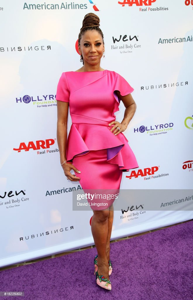 Actress Holly Robinson Peete attends the 19th Annual DesignCare 2017 at Private Residence on July 15, 2017 in Pacific Palisades, California.