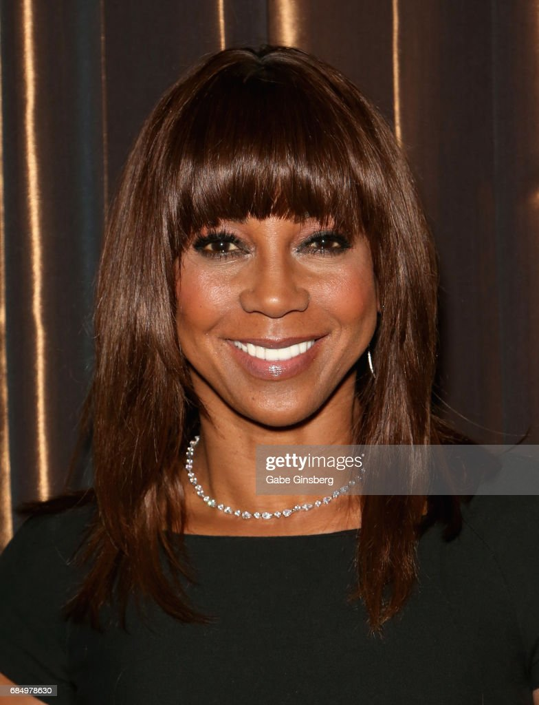 Actress Holly Robinson Peete attends the 2017 Personal Managers Hall of Fame induction ceremony at the Downtown Grand Hotel & Casino on May 18, 2017 in Las Vegas, Nevada.