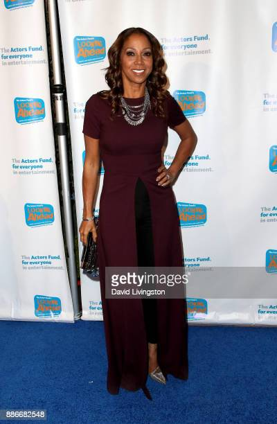 Actress Holly Robinson Peete attends The Actors Fund's 2017 Looking Ahead Awards honoring the youth cast of NBC's 'This Is Us' at Taglyan Complex on...