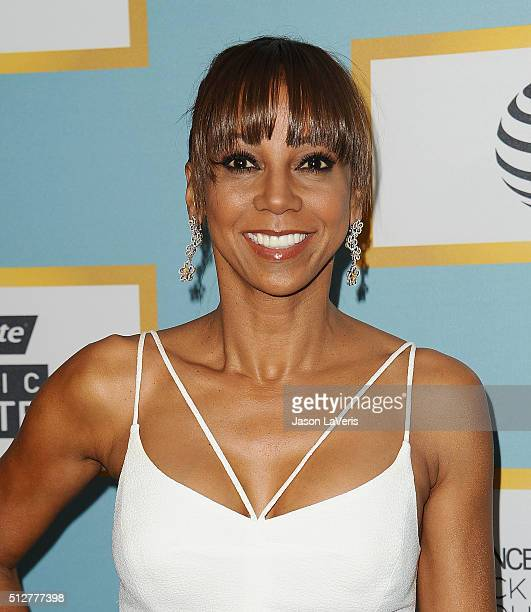 Actress Holly Robinson Peete attends the Essence 9th annual Black Women In Hollywood event at the Beverly Wilshire Four Seasons Hotel on February 25...