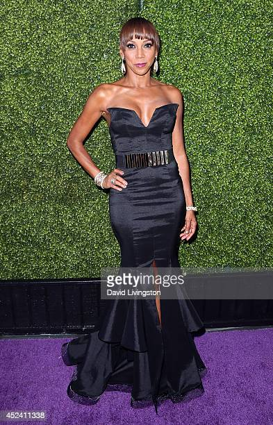 Actress Holly Robinson Peete attends the HollyRod Foundation's 16th Annual DesignCare at The Lot Studios on July 19 2014 in Los Angeles California