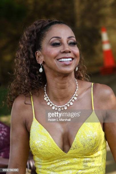 Actress Holly Robinson Peete attends The HollyRod Foundation's 20th Annual DesignCare Gala at Private Residence on July 14 2018 in Malibu California