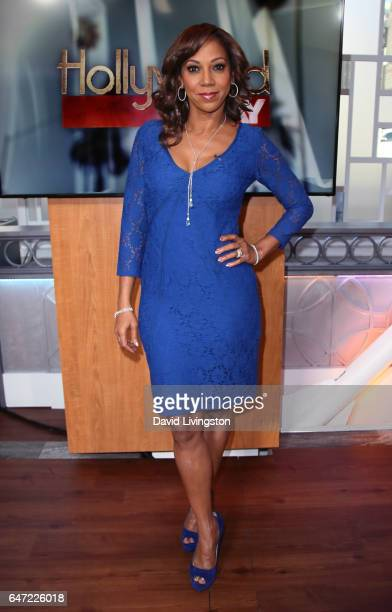 Actress Holly Robinson Peete visits Hollywood Today Live at W Hollywood on March 2 2017 in Hollywood California