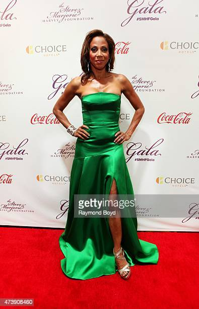 Actress Holly RobinsonPeete attends the 2015 Steve and Marjorie Harvey Foundation Gala at the Hilton Chicago on May 16 2015 in Chicago Illinois