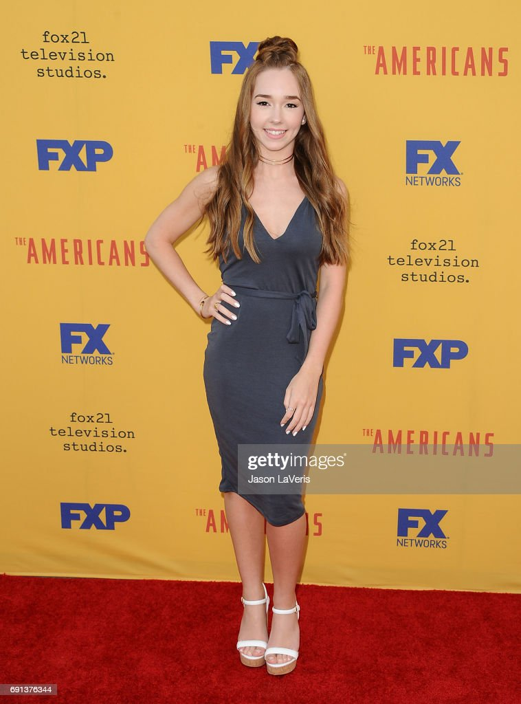Actress Holly Taylor attends 'The Americans' For Your Consideration event at Saban Media Center on June 1, 2017 in North Hollywood, California.