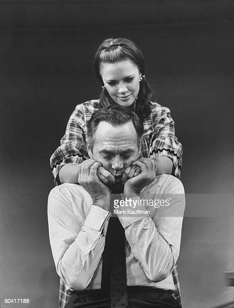 Actress Holly Turner and actor Henry Fonda starring in Broadway comedy Generation