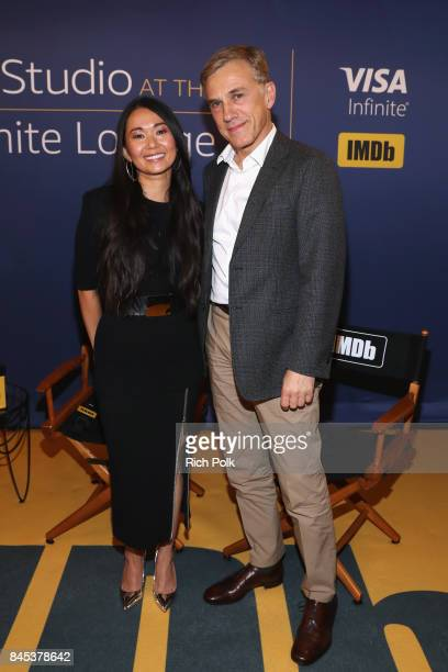 Actress Hong Chau and actor Christoph Waltz of 'Downsizing' attend The IMDb Studio Hosted By The Visa Infinite Lounge at The 2017 Toronto...