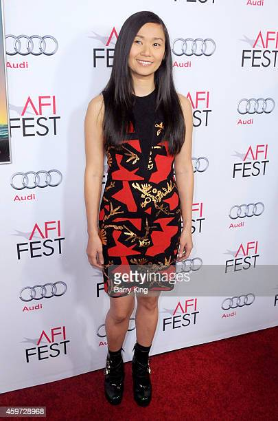 Actress Hong Chau arrives at AFI FEST 2014 Presented by Audi Gala Premiere of 'Inherent Vice' at the Egyptian Theatre on November 8 2014 in Hollywood...