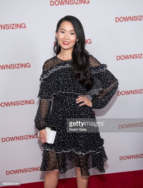 Actress Hong Chau attends the 'Downsizing' New York screening at AMC Lincoln Square Theater on December 11 2017 in New York City