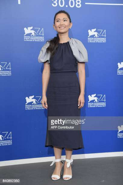 Actress Hong Chau attends the photocall of the movie 'Downsizing' presented in competition at the 74th Venice Film Festival on August 30 2017 at...