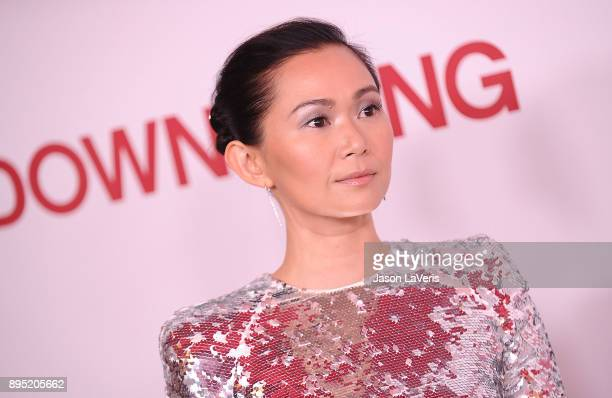 Actress Hong Chau attends the premiere of 'Downsizing' at Regency Village Theatre on December 18 2017 in Westwood California
