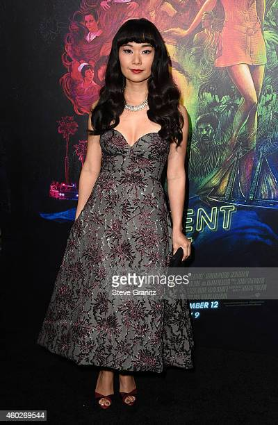 "Actress Hong Chau attends the premiere of Warner Bros. Pictures' ""Inherent Vice"" at TCL Chinese Theatre on December 10, 2014 in Hollywood, California."