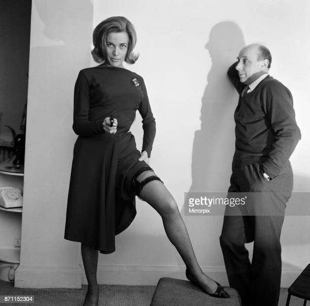 Actress Honor Blackman feature for Donald Zec 3rd February 1963