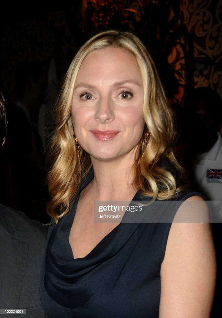 Actress Hope Davis attends the HBO premiere of 'The Special Relationship' after party held at Directors Guild Of America on May 19, 2010 in Los Angeles, California..