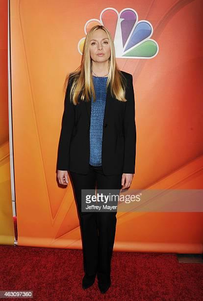 Actress Hope Davis attends the NBCUniversal 2015 Press Tour at the Langham Huntington Hotel on January 16 2015 in Pasadena California