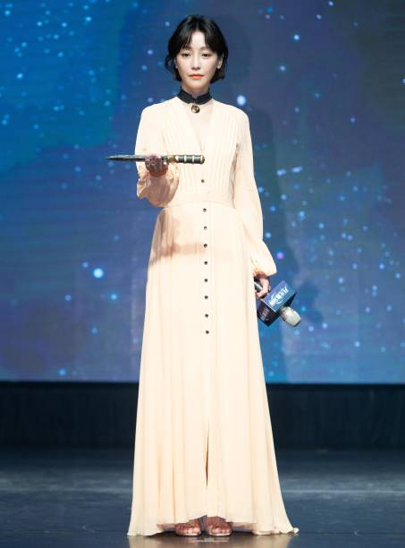 TWN: Hsin Ying Hsieh Attends 'Legendary Moonlight Sculptor' Press Conference In Taiwan