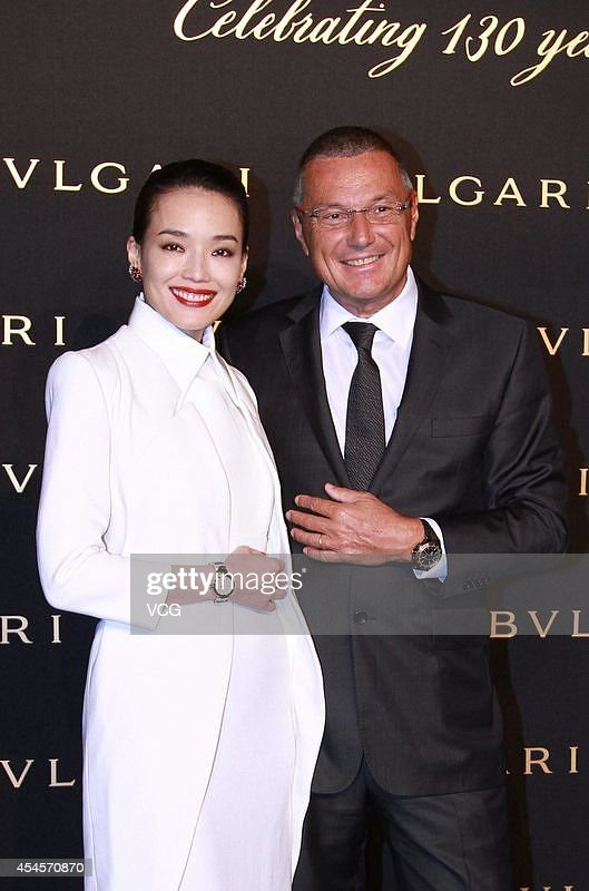 Hsu Chi Attends Commercial Activity Of Bulgari In Beijing