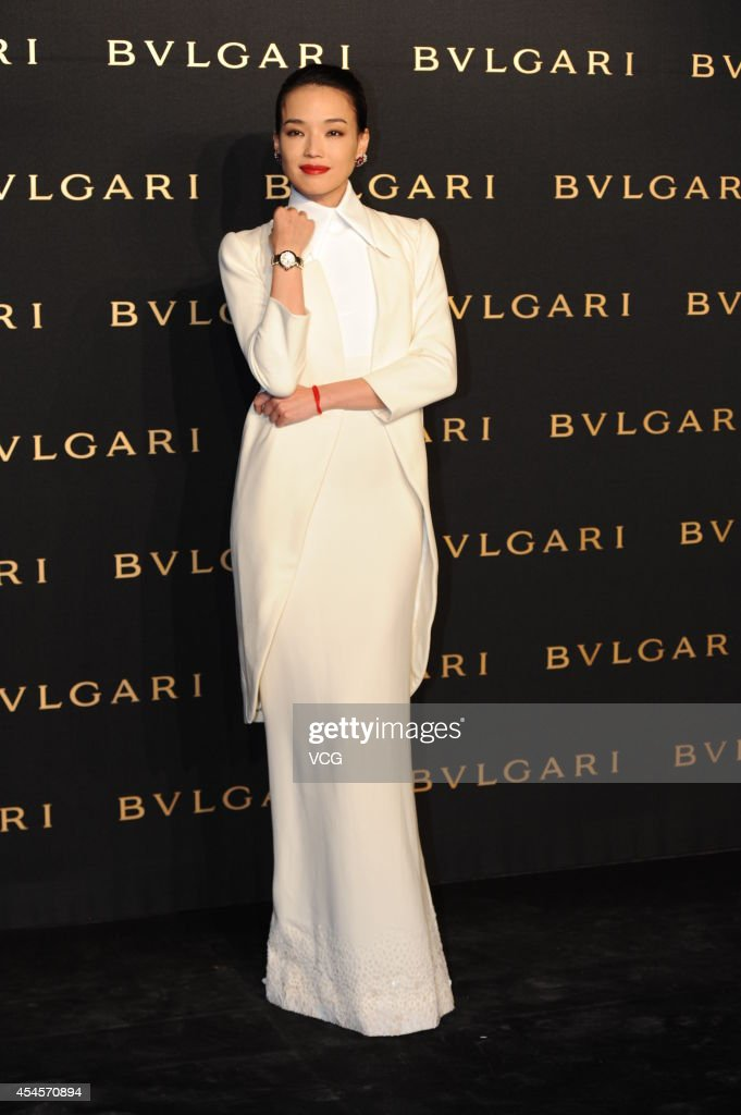 Actress Hsu Chi attends commercial activity of Bulgari on