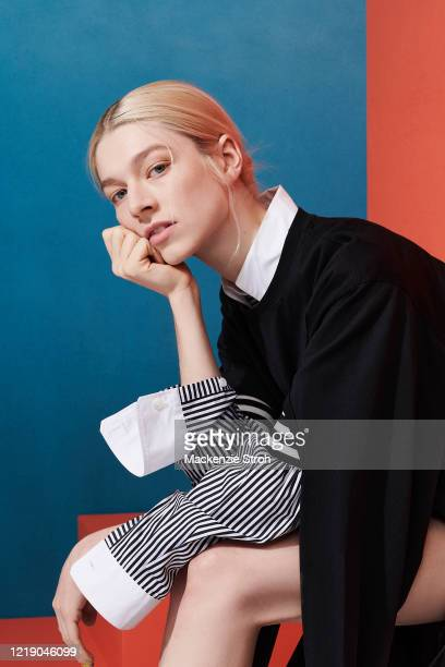 Actress Hunter Schafer is photographed for Entertainment Weekly Magazine on February 27 2020 at Savannah College of Art and Design in Savannah...
