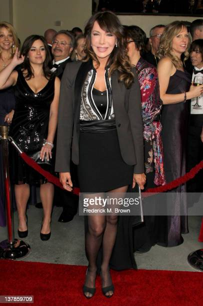 Actress Hunter Tylo arrives at the 64th Annual Directors Guild Of America Awards held at the Grand Ballroom at Hollywood Highland on January 28 2012...