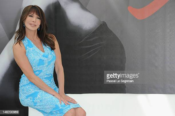 Actress Hunter Tylo attends a photocall for the TV Series 'The Bold And The Beautiful' during the 52nd Monte Carlo TV Festival on June 12 2012 in...