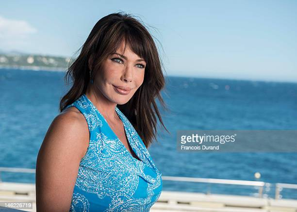 Actress Hunter Tylo poses for a portrait session during the 52nd Monte Carlo TV Festival on June 12 2012 in Monaco Monaco